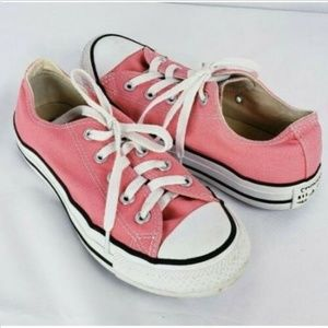 Converse All Star Low Top Sneakers Womens 6 Canvas